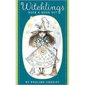 Witchling tarot deck & book by Paulina Cassidy
