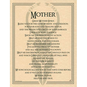 Great Mother Spirit poster - Wiccan Place