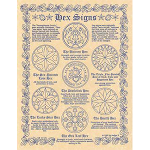 Hex Signs poster - Wiccan Place