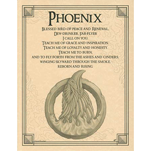 Phoenix poster - Wiccan Place