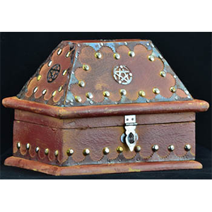 Salem Pentagram Chest - Wiccan Place