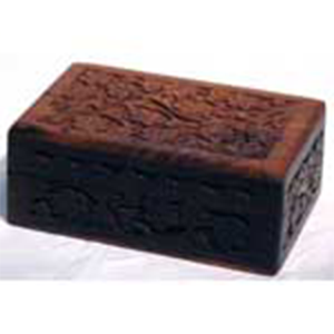 Handcrafted Box with Floral Design 4