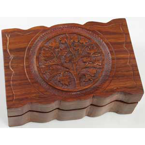 "Tree of Life box 4"" x 6"" - Wiccan Place"
