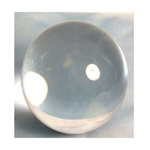 Clear crystal ball 200 mm - Wiccan Place