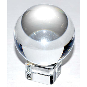 Clear crystal ball 50 mm - Wiccan Place