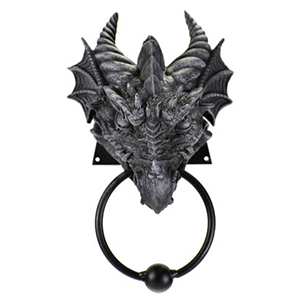 Dragon door knocker - Wiccan Place