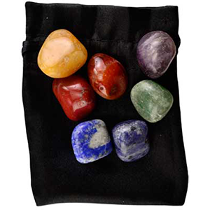 Chakra mediation stones set - Wiccan Place