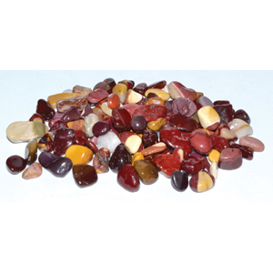 Mookaite tumbled chips 6-8 mm, 1 lb