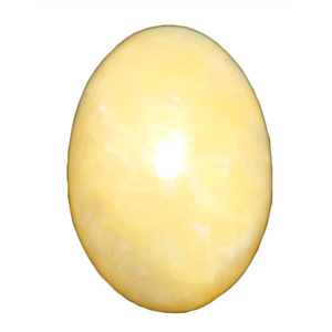 Calcite, Yellow egg 2""