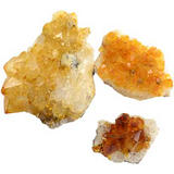 Flat of Citrine Druse - Wiccan Place