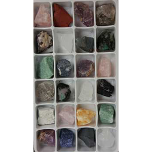 Flat of Mixed windowed stones - Wiccan Place