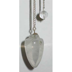 Clear Quartz pendulum - Wiccan Place