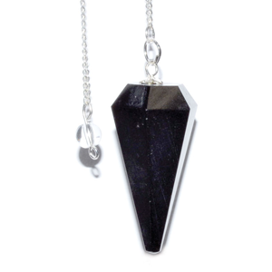Black Tourmaline 6-sided pendulum - Wiccan Place