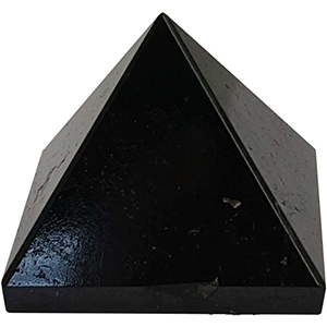 Black Tourmaline pyramid 25-30 mm