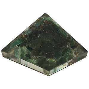 Orgonite Green Aventurine pyramid 25-30mm
