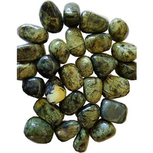 Asterite Serpentine tumbled stones 1 lb