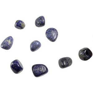 Dumortierite tumbled stones 1 lb - Wiccan Place