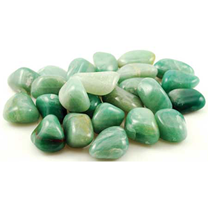 Green Adventurine tumbled stones - Wiccan Place