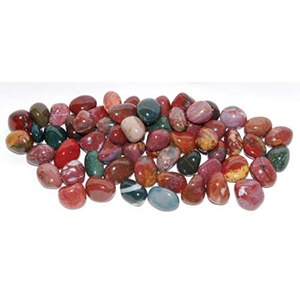 Jasper Fancy tumbled stones 1 lb