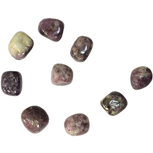 Lepidolite tumbled stones 1 lb - Wiccan Place