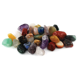 Mixed tumbled stones 1 lb - Wiccan Place