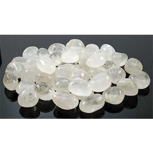 Clear Quartz tumbled stones 1 lb - Wiccan Place