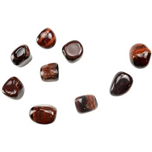 Red Tiger Eye tumbled stones 1 lb