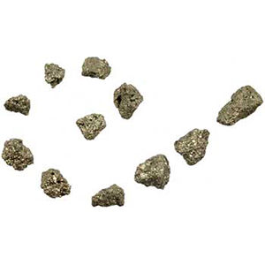Pyrite untumbled stones 1 lb - Wiccan Place