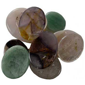 Various Worry Stone - Wiccan Place