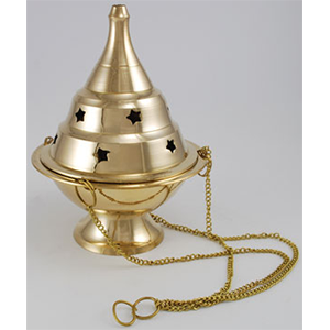 Hanging Brass Censer - Wiccan Place