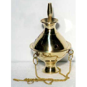 Brass Hanging incense burner 5