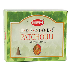 Patchouli HEM Incense Cones 10 pack - Wiccan Place