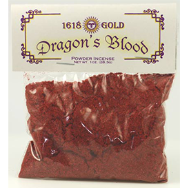 Dragon's Blood powder incense - Wiccan Place