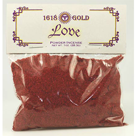 Love powder incense - Wiccan Place