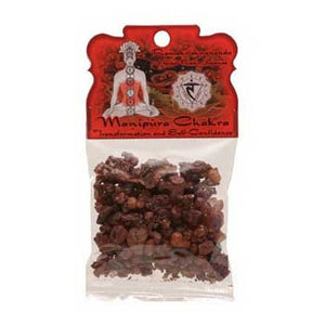 Manipura Chakra resin incense 1.2 oz - Wiccan Place