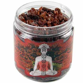 Manipura resin incense 2.4 oz jar