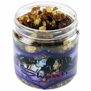 Shanti resin incense 2.4 oz jar
