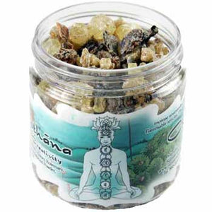 Svadhisthana Chakra resin incense 2.4oz jar - Wiccan Place