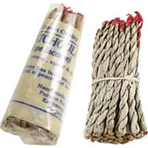 Patchouli Tibetan rope incense 45 ropes - Wiccan Place