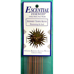 Buddhist Temple Stick Incense 16 pack - Wiccan Place