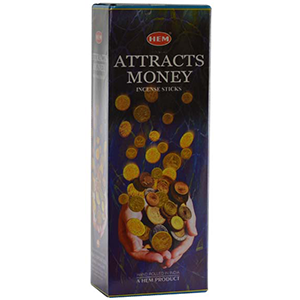 Attracts Money HEM Stick Incense 20 pack - Wiccan Place