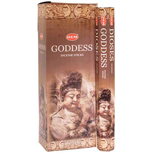 Goddess HEM Stick Incense 20 pack - Wiccan Place