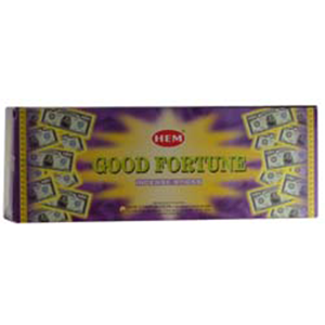 Good Fortune HEM Stick Incense 20 pack - Wiccan Place