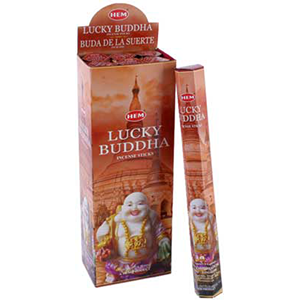 Lucky Buddha HEM Stick Incense 20 pack - Wiccan Place