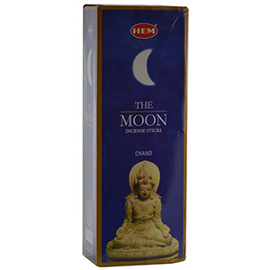 Moon HEM Stick Incense 20 pack - Wiccan Place