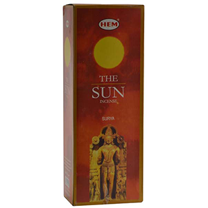 Sun HEM Stick Incense 20 pack - Wiccan Place