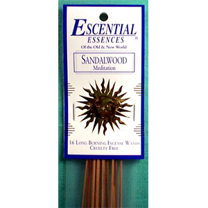 Sandalwood Stick Incense 16 pack - Wiccan Place