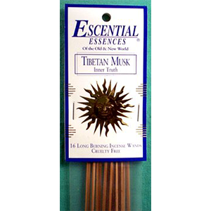 Tibetan Musk Stick Incense 16 pack - Wiccan Place