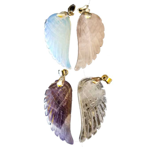 Angel Wing pendants (pack of 4)