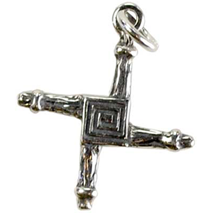 Bridget's Cross Pendant - Wiccan Place
